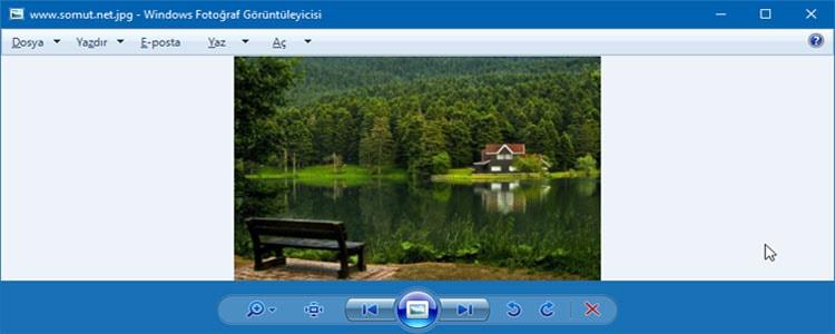 Windows Eski Fotoğraf Görüntüleyicisini Kullanma - Windows 10 İçin Aktif Etmek